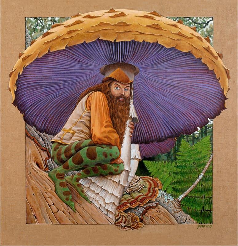 Shroom by Rahael Schnepf, artist