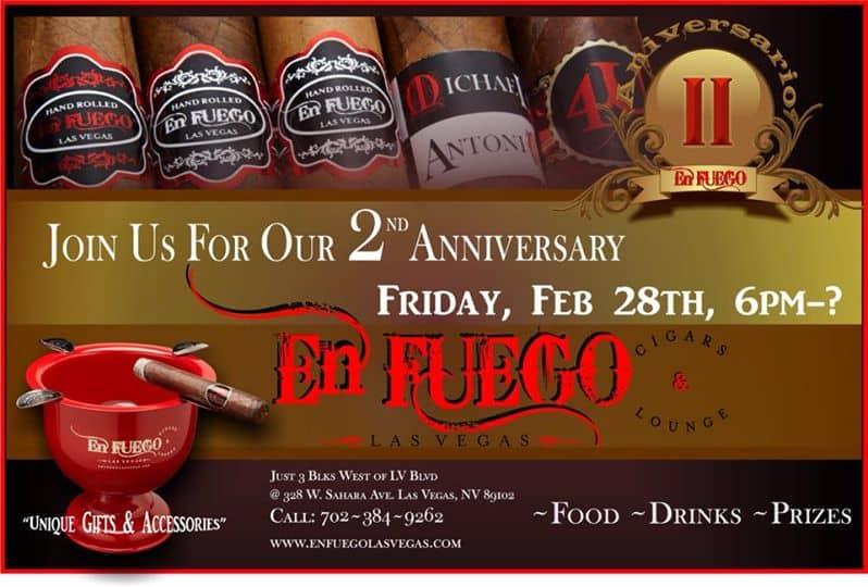 En Fuego 2nd Anniversary, Las Vegas, NV