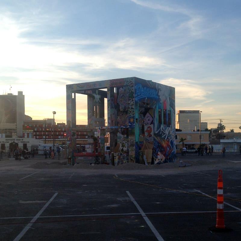 Life Cube - Pre Burn - 03/21/14, Las Vegas, NV
