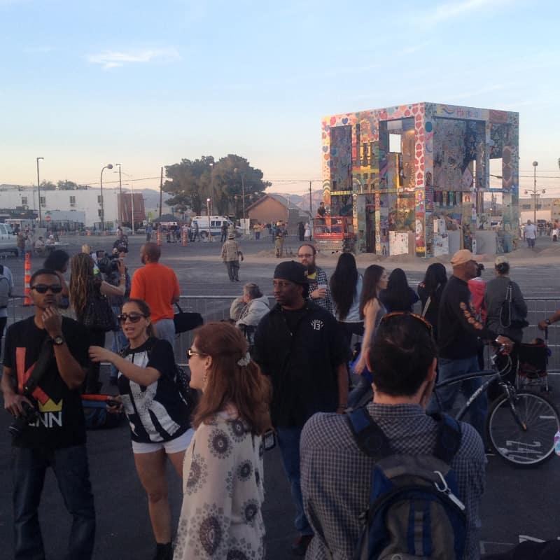 Life Cube 03/21/14 - Pre-Burn, Las Vegas, NV
