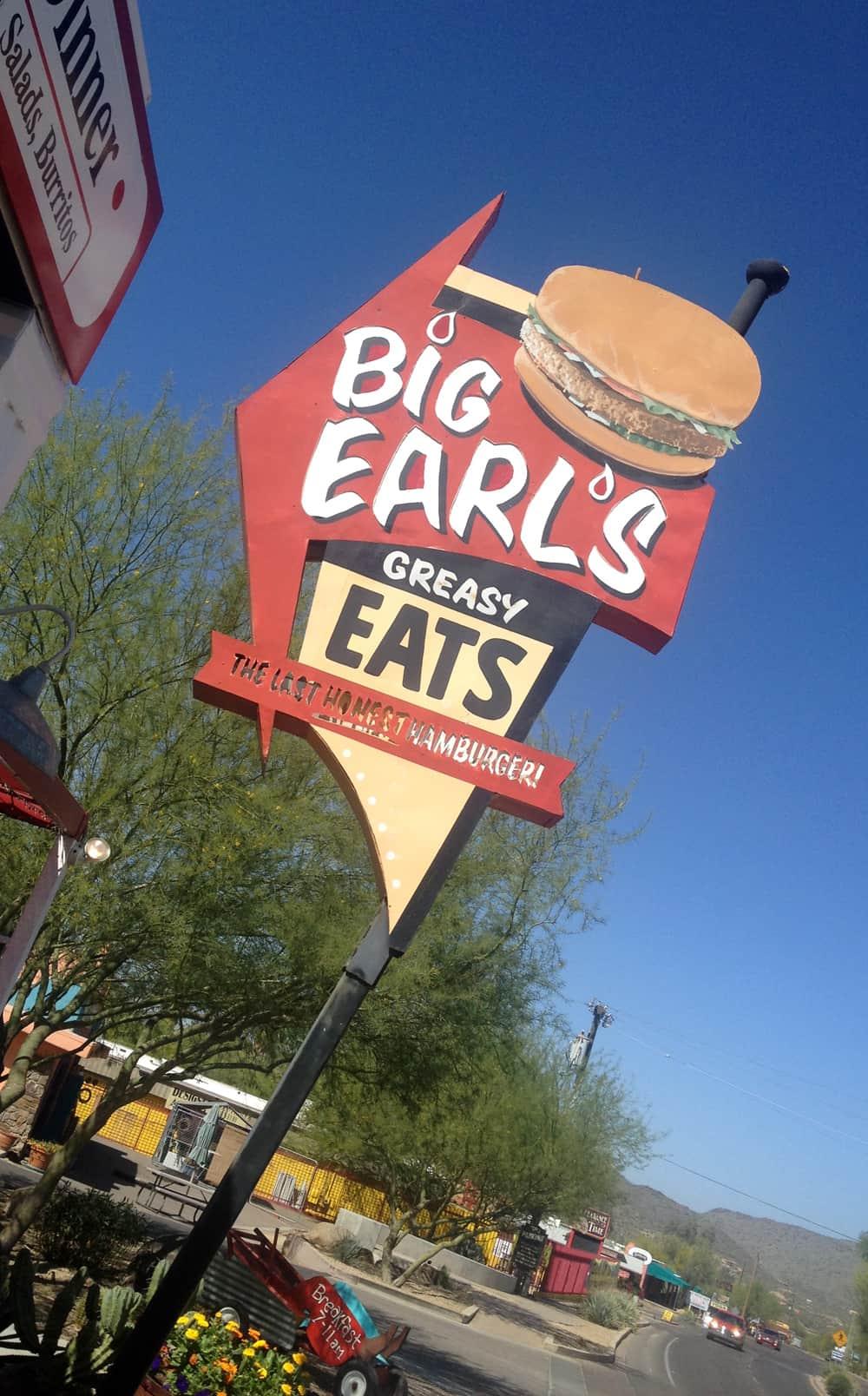 Big Earls- at Cave Creek, AZ.