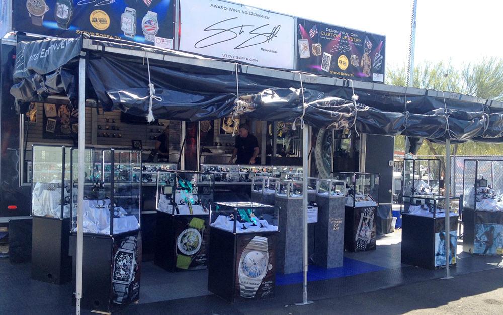 Steve Soffa Rolling Showroom at Arizona Bike Week 2014
