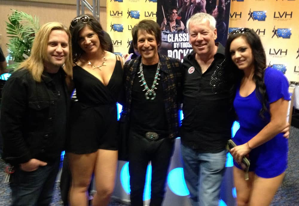 A.D. Cook and the Raiding the Rock Vault stars!