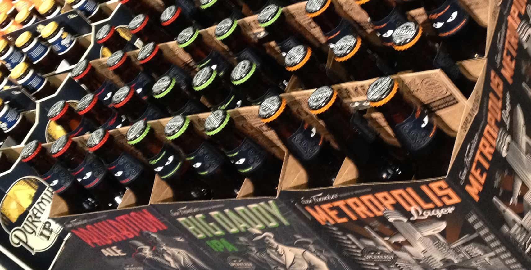 Beer Bottles at Lee's Beer & Tequila Experience