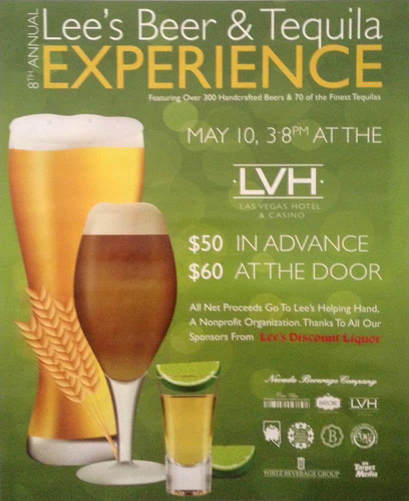 Lee's Beer & Tequila Experience 2014, Las Vegas, NV