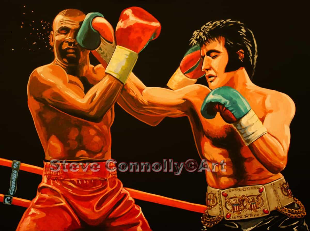 Steve Connolly, Artist - Elvis Boxing