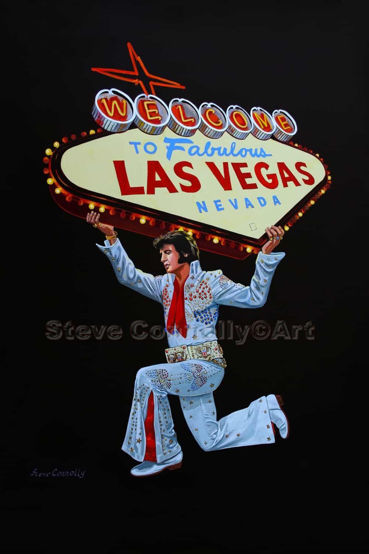 Steve Connolly - Elvis Las Vegas Sign