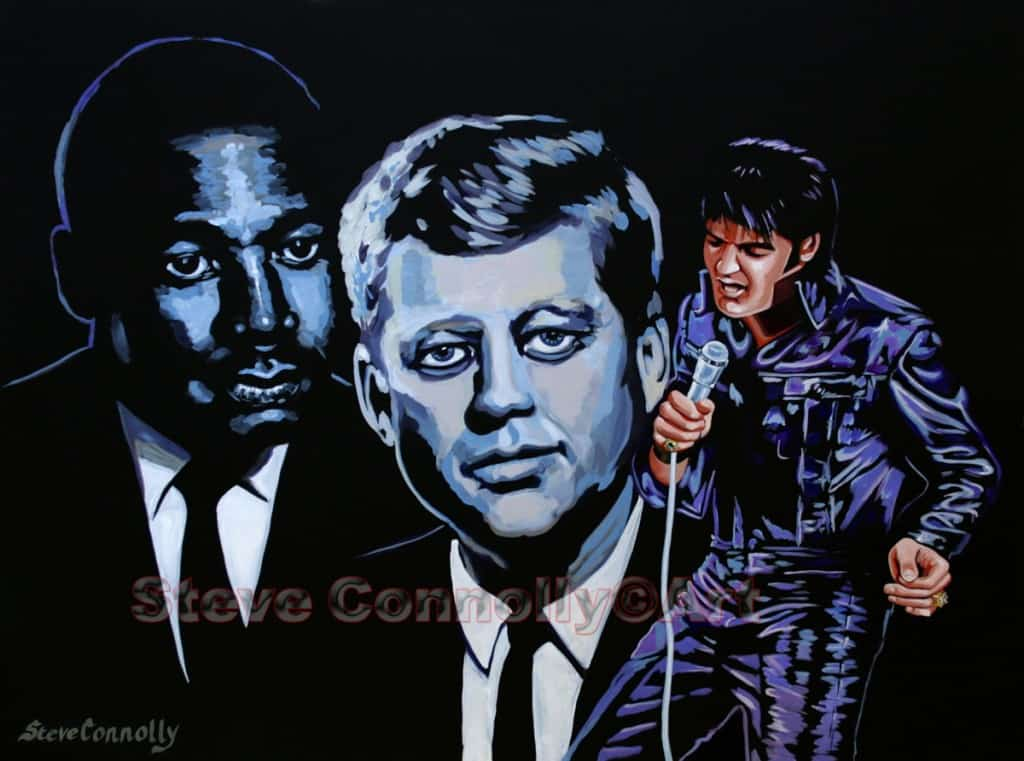 Steve Connolly - Elvis-MLK-Kennedy