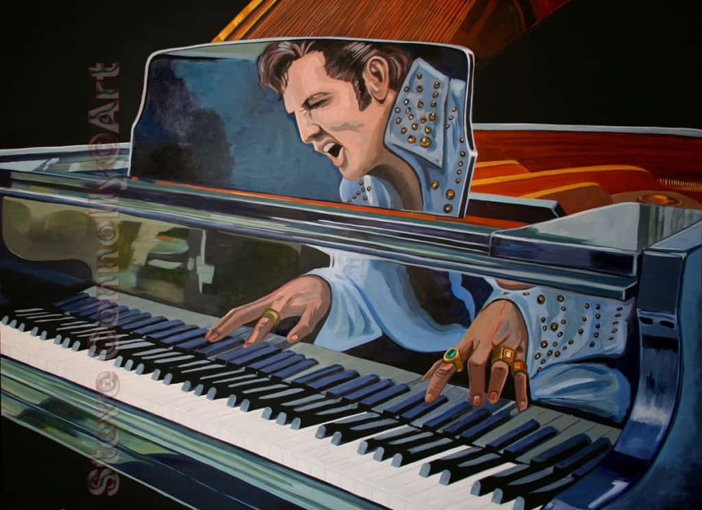 Steve Connolly - Elvis Piano