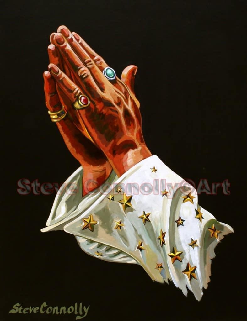 Steve Connolly - Elvis Praying Hands