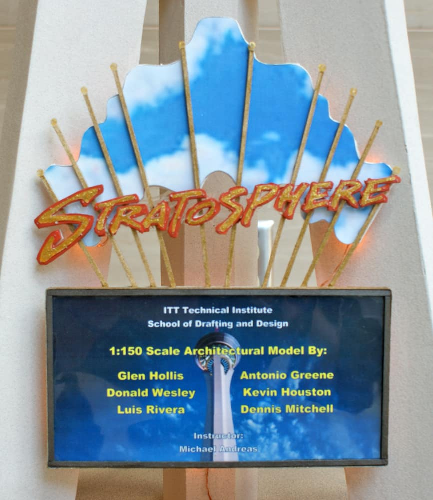 Stratosphere Scale Model Credits