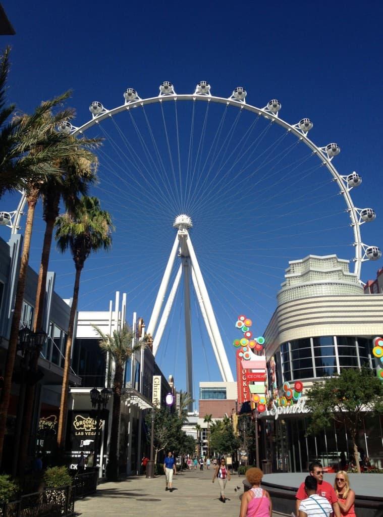 The LINQ High Roller, Las Vegas, NV.