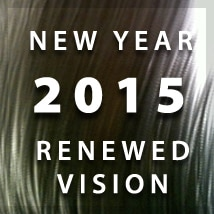 2015 New Year. Renewed Vision