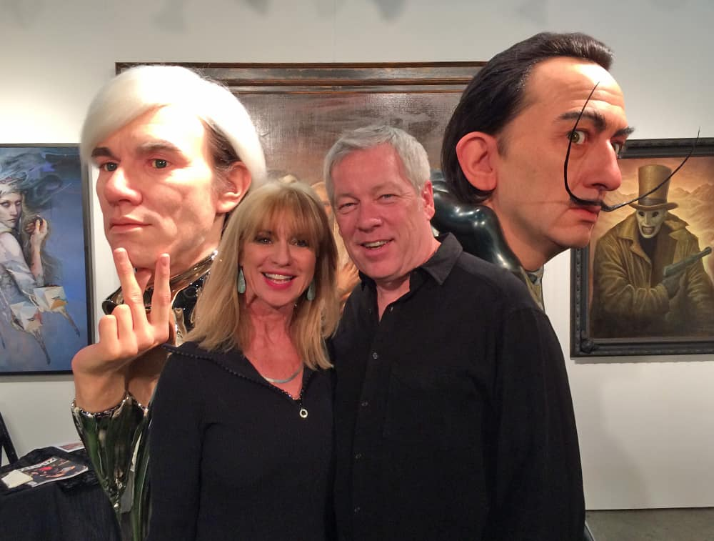 LA ART Show 2015 - Andy Warhol, Beti Kristof, A.D. Cook and Salvador Dali