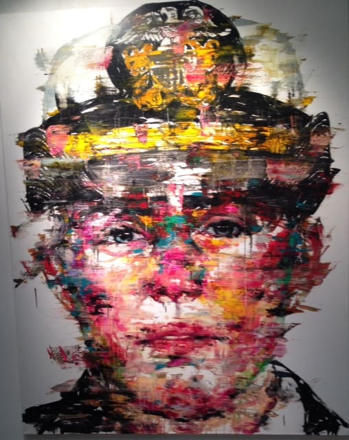 LA ART Show 2015 - Colorful Portrait