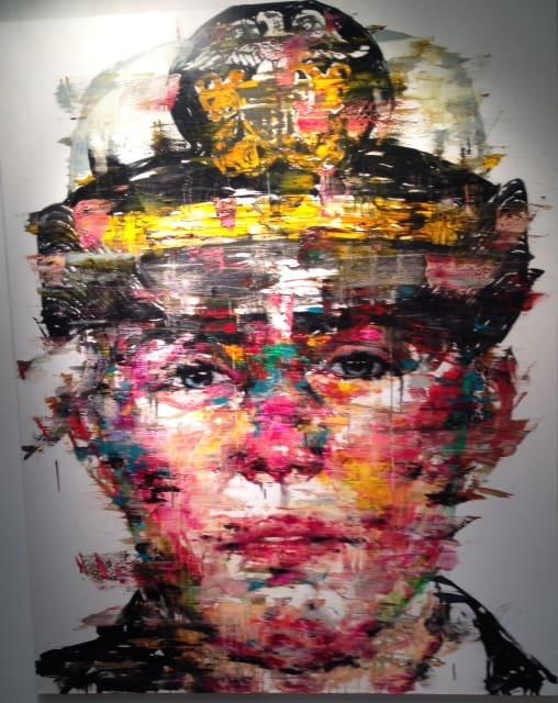 LA ART Show 2015 - Colorful Portrait