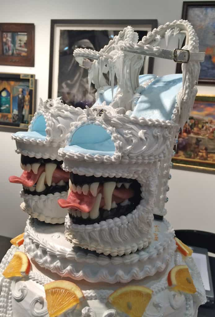 LA ART SHOW 2015 - Crazy Shoe Art