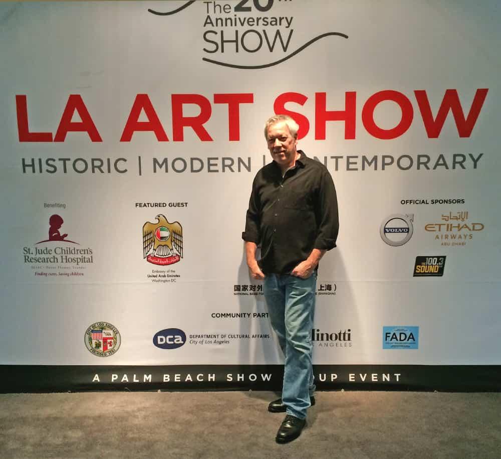 LA Art Show 2015 - A.D. Cook, artist