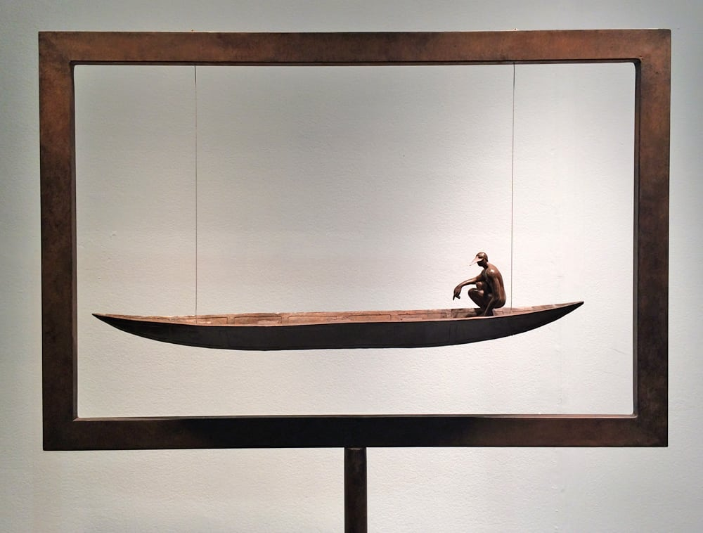 LA Art Show 2015 - The Man In Boat