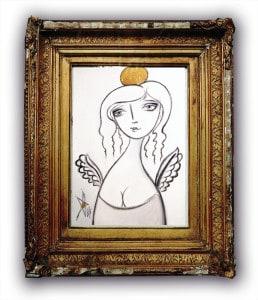 Art Angel by Beti Kristof-Mohn, Artist, Las Vegas, NV