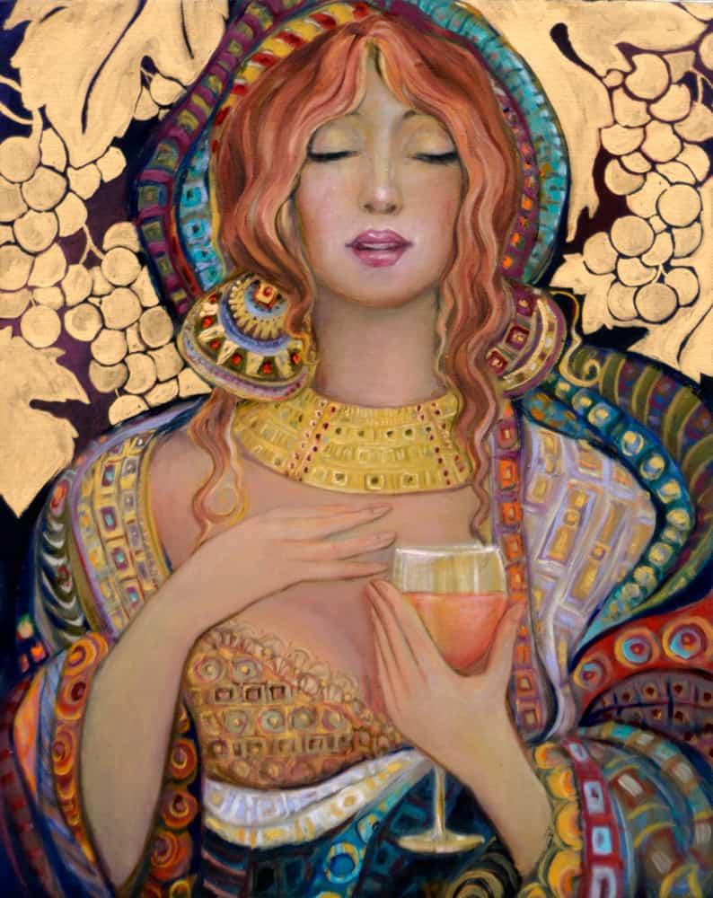Blush by Beti-Kristof-Mohn, artist, Las Vegas, NV