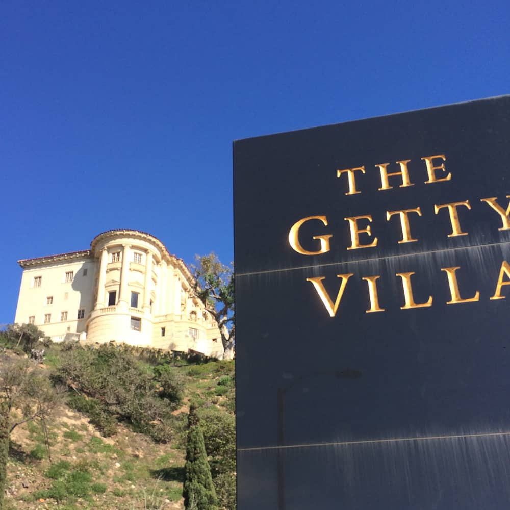 Getty Villa Hilltop Mansion, Malibu, CA