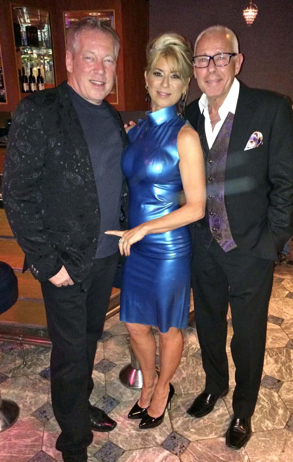 Sexxy A.D. Cook, Beti Kristof and Bob Golden, Las Vegas, NV