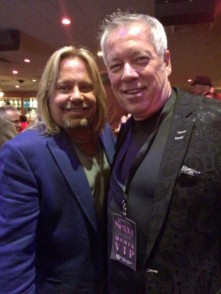 Sexxy Show Vince Neil and A.D. Cook, Las Vegas, NV
