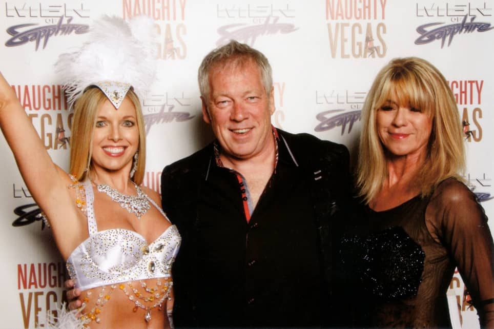 Sienna Sinclaire, A.D. Cook, Beti Kristof at Naughty Girls Red Carpet, Las Vegas, NV