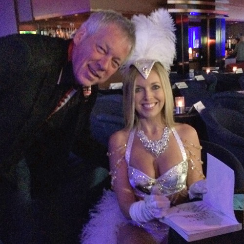 Sienna signing her book Naughty Girl's Guide to Las Vegas at Sapphire's, Las Vegas