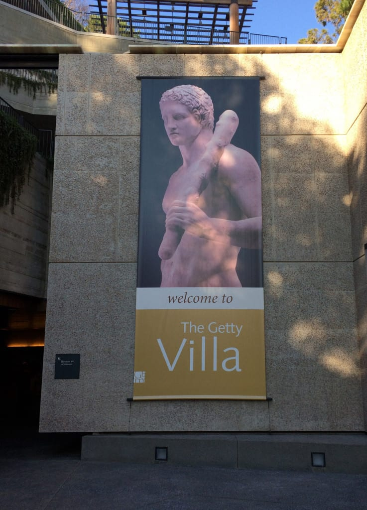 Welcome to the Getty Villa, Pacific Palisades, CA