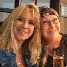 Beti Kristof and Melanie Lesh