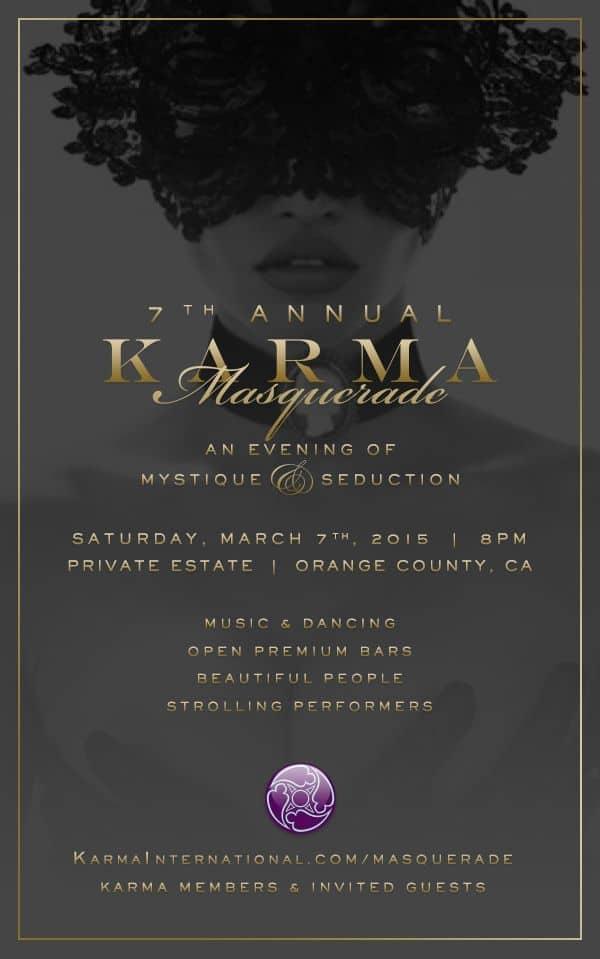 7th Annual Karma Masquerade Party 2015