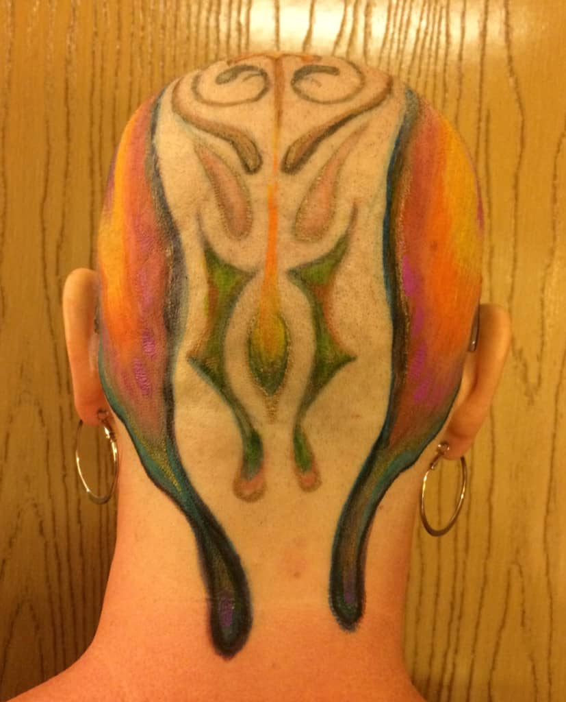 Melanie Lesh Head Painted