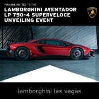 Lamborghin Aventador LP750-4 Unveiling, Las Vegas, NV
