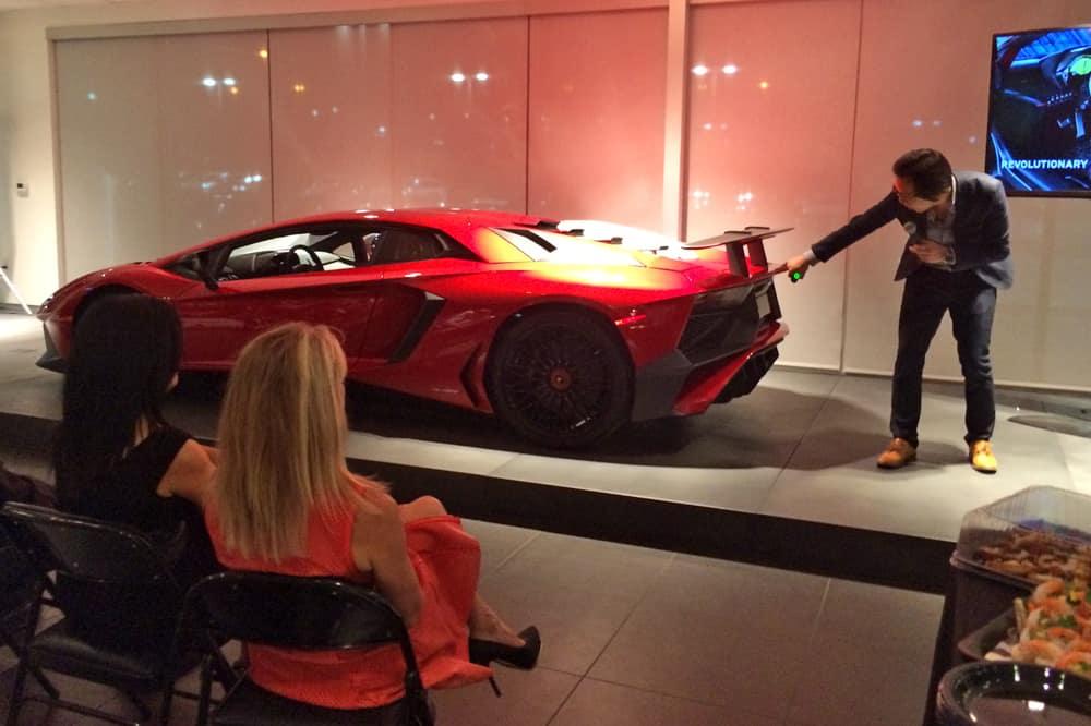 Jordan Shiraki shares insight on the Lamborghini Aventador SV.