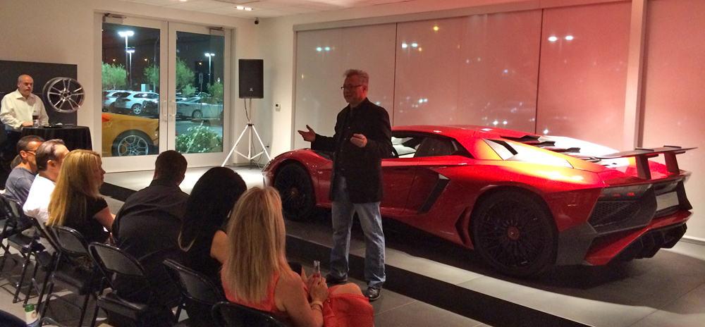 Tom Brazill shares the Lamborghini LP 750-4 Aventador SV
