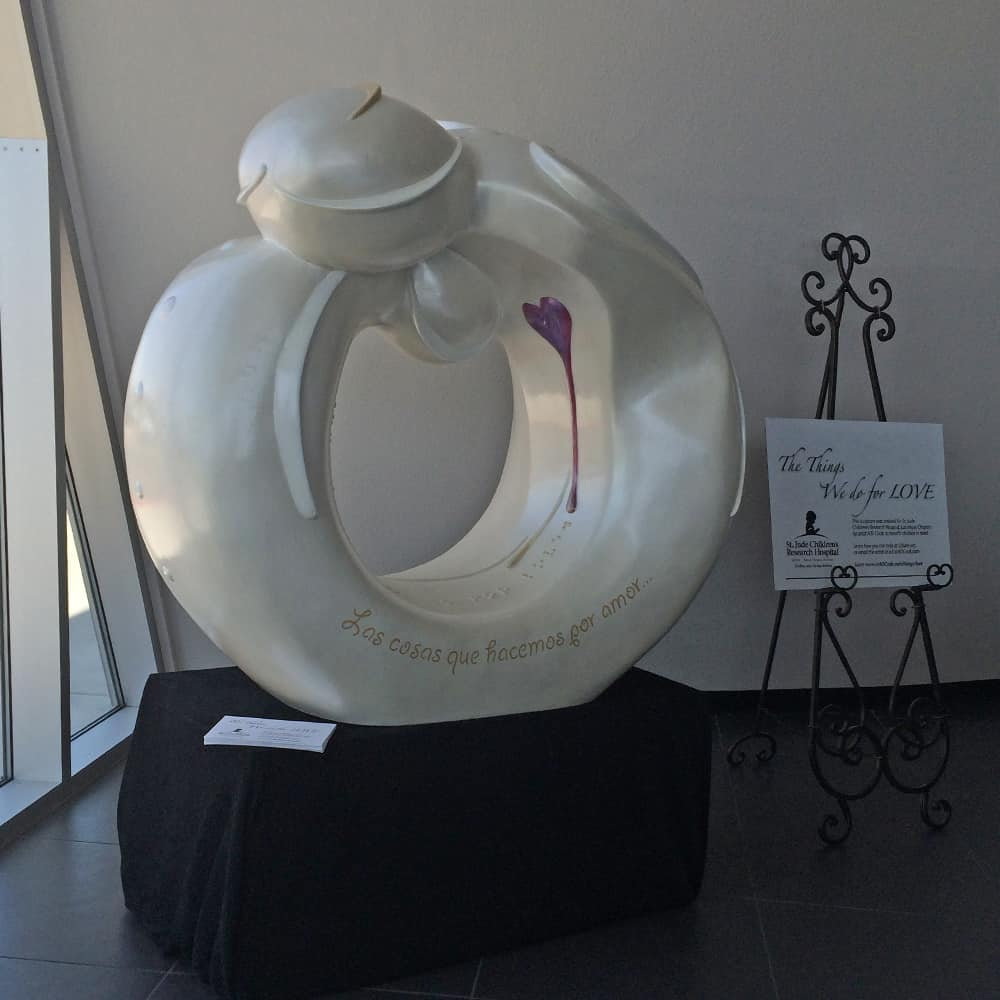 A.D. Cook St Jude Sculpture at AUDI Henderson, NV