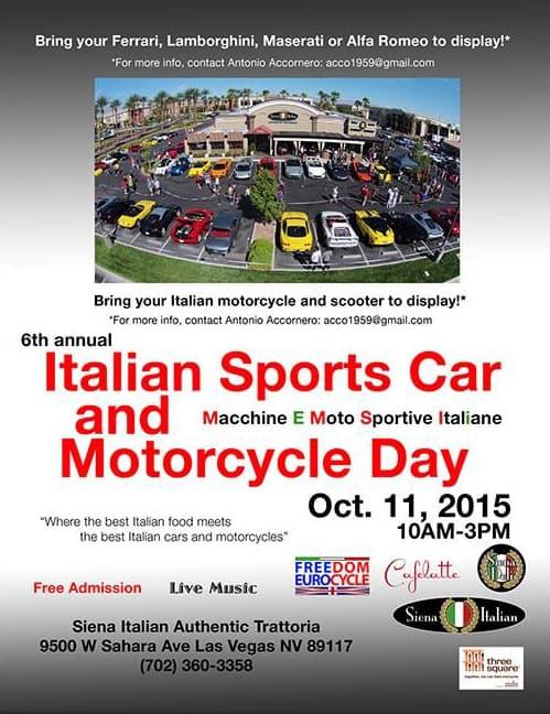 6th Annual Sports Car Day, Las Vegas, NV.