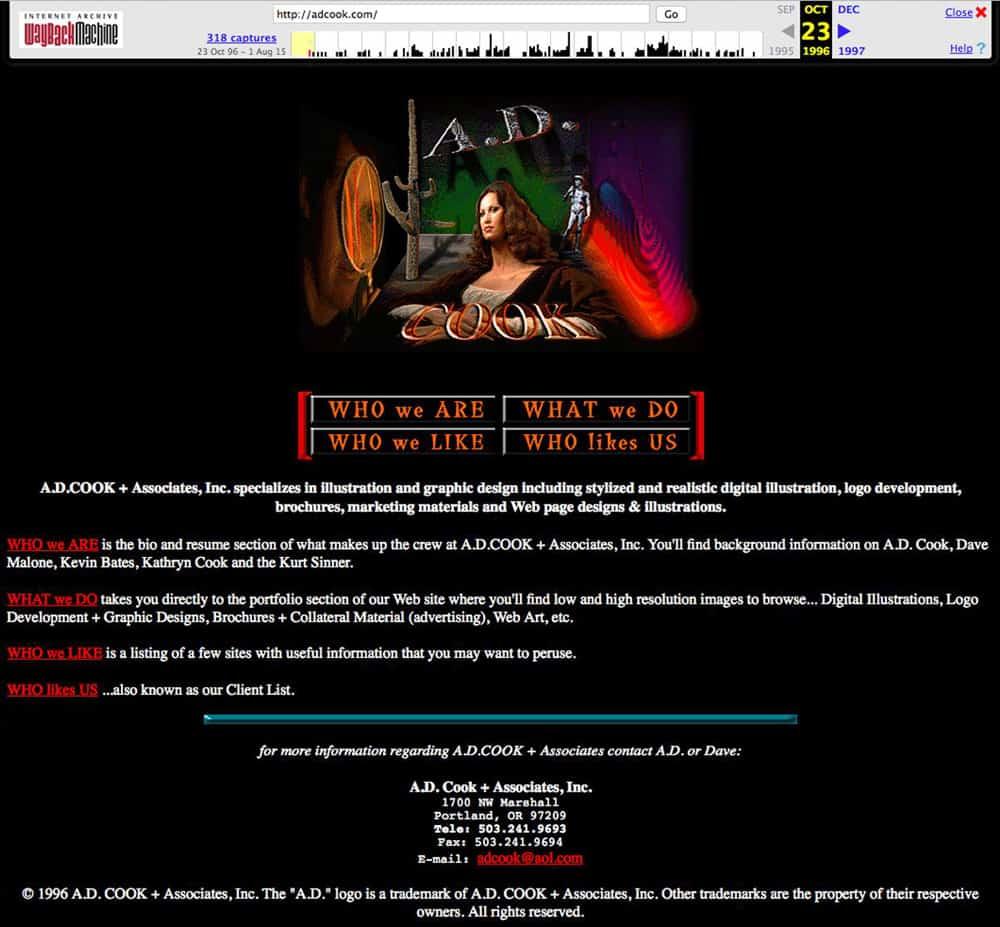 ADCook.com - 1996