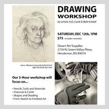 Art Workshops, December 2015, Las Vegas, NV