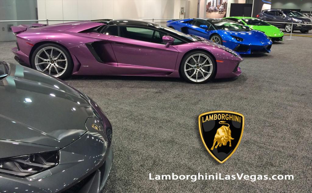 Motor Trend Auto Show 2015, Lamborghini Las Vegas