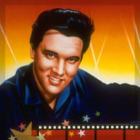 Elvis Hollywood Video Mural by A.D. Cook