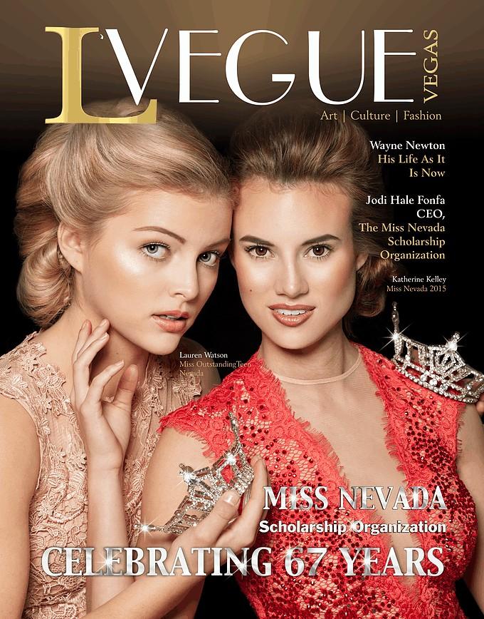LVegue magazine cover - Spring 2016