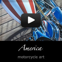 America by A.D. Cook, motorcycle artist