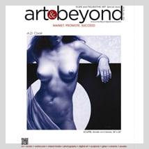 A.D. Cook art on Art & Beyond cover