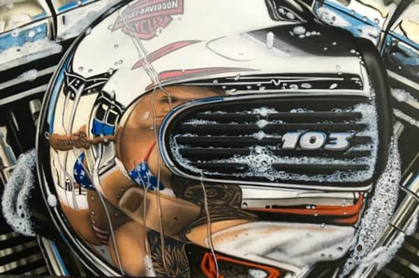 kunst airbrush auto