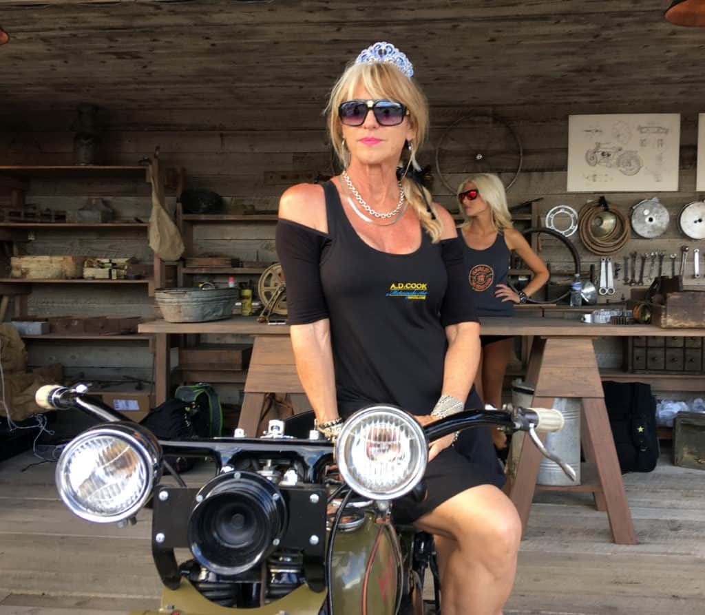 "Beti Kristof ""Lady Vegas"" Classic-HD, Sturgis Motorcycle Rally"
