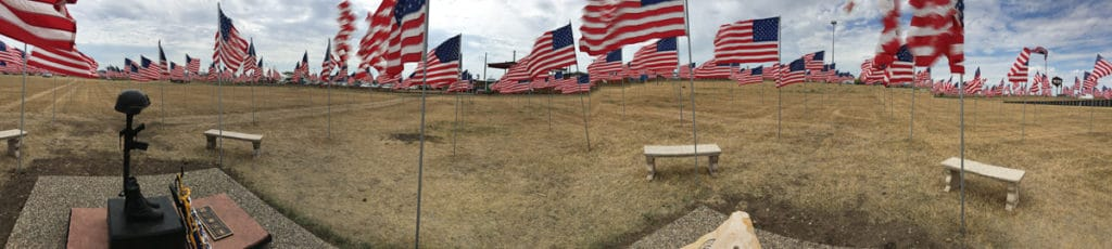 Field of Flags, Sturgis Buffalo Chip 2016