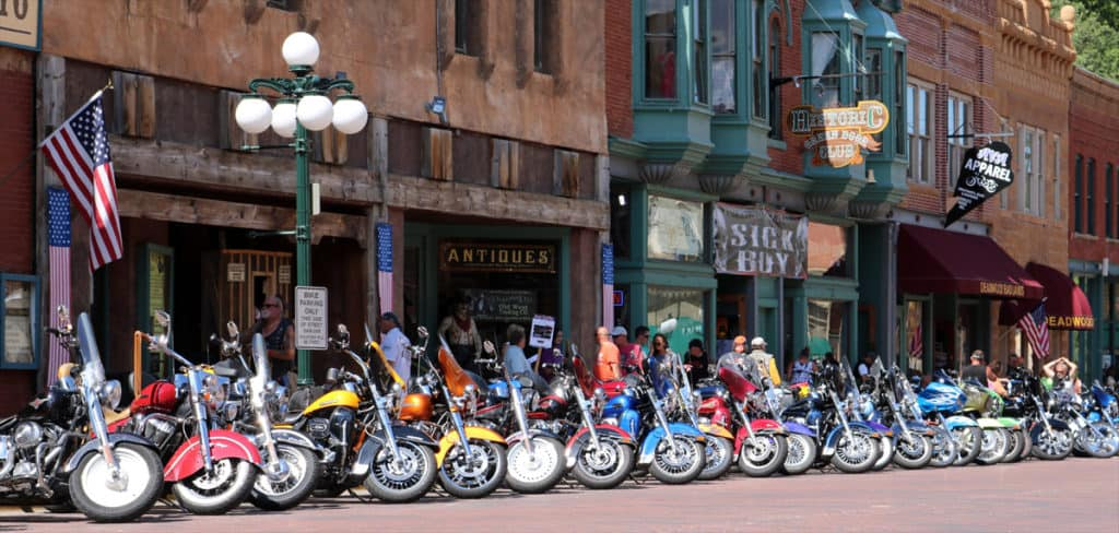 Sturgis 2016 - Motorcycles at Deadwood